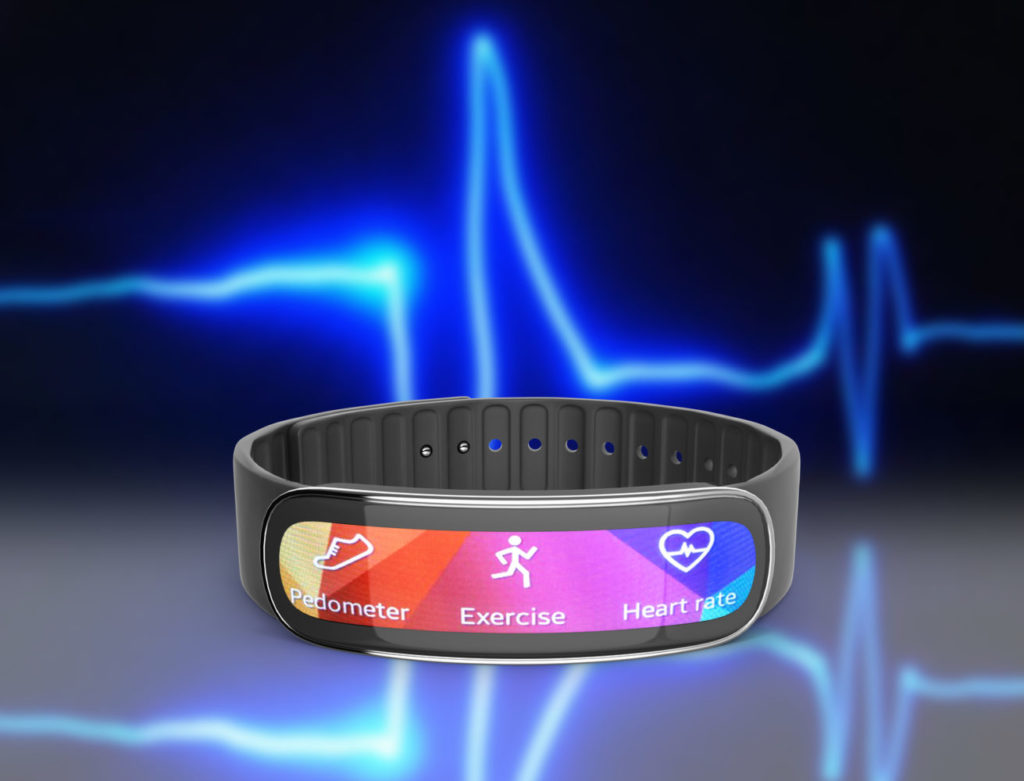 Fitness Armband Pulsmessung