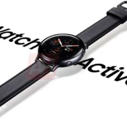 Samsung Galaxy Watch Active 2 kommt mit Touch Bezel + EKG